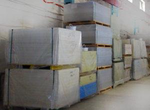 Хранение фиброцементных плит