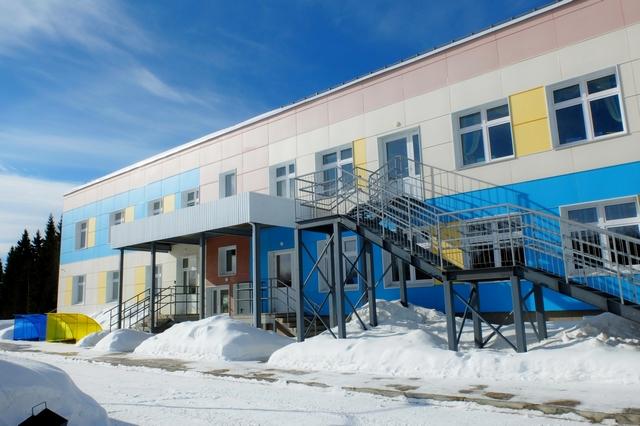 Открытие детского сада в Эжве