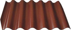 Лист Волнаколор шоколадный