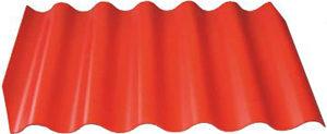 Лист Волнаколор красно-коричневый